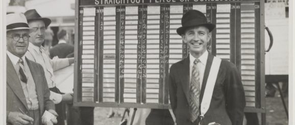 Vintage bookie: Taxman targets professional punters' winnings - AUTHOR UNKNOWN 1920s