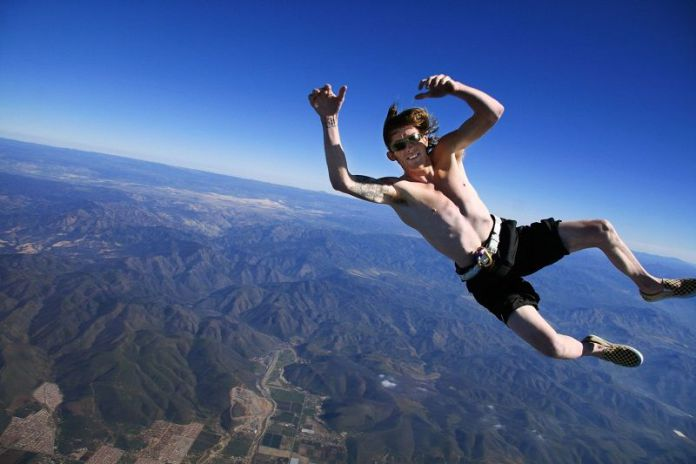 Banzai skydiving is an intense sport that causes chills just by thinking about it.